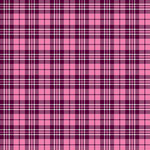 Ella and Viv Paper Company - Perfectly Plaid Collection - 12 x 12 Paper - Pink Plaid