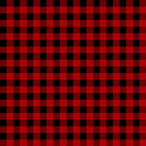 Ella and Viv Paper Company - Perfectly Plaid Collection - 12 x 12 Paper - Lumberjack Plaid