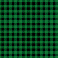 Ella and Viv Paper Company - Perfectly Plaid Collection - 12 x 12 Paper - Forest Plaid