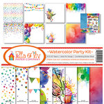 Ella and Viv Paper Company - Watercolor Party Collection - 12 x 12 Kit
