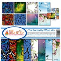 Ella and Viv Paper Company - The Butterfly Effect Collection - 12 x 12 Kit