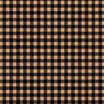Ella and Viv Paper Company - Lumberjack Collection - 12 x 12 Paper - Espresso Plaid