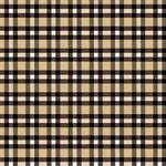 Ella and Viv Paper Company - Lumberjack Collection - 12 x 12 Paper - London Plaid