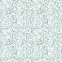Ella and Viv Paper Company - Garment District Collection - 12 x 12 Paper - Chantily Lace