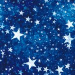 Ella and Viv Paper Company - Le Cirque Collection - 12 x 12 Paper - Under the Stars