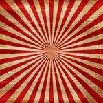 Ella and Viv Paper Company - Le Cirque Collection - 12 x 12 Paper - Circus Stripes