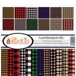 Ella and Viv Paper Company - Lumberjack Collection - 12 x 12 Kit
