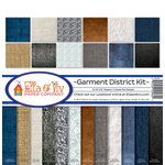 Ella and Viv Paper Company - Garment District Collection - 12 x 12 Kit