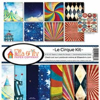 Ella and Viv Paper Company - Le Cirque Collection - 12 x 12 Kit