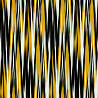 Ella and Viv Paper Company - Modern Art Collection - 12 x 12 Paper - Black and Gold