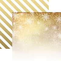 Reminisce - Elegant Christmas Collection - 12 x 12 Double Sided Paper - Christmas Magic