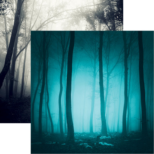 Reminisce - Eerie Night Collection - Halloween - 12 x 12 Double Sided Paper - Eerie Night