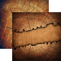 Reminisce - Elegant Woods Collection - 12 x 12 Double Sided Paper - 1