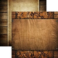 Reminisce - Elegant Woods Collection - 12 x 12 Double Sided Paper - 4
