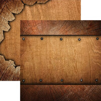 Reminisce - Elegant Woods Collection - 12 x 12 Double Sided Paper - 5