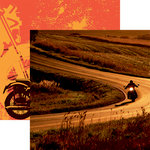 Reminisce - Easy Rider Collection - 12 x 12 Double Sided Paper - Backroads