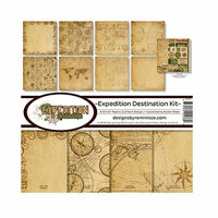 Reminisce - Expedition Destination Collection - 12 x 12 Collection Kit