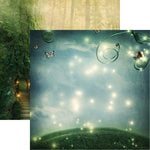 Reminisce - Fairy Forest Collection - 12 x 12 Double Sided Paper - Twilight Magic