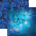 Reminisce - Fairy Forest Collection - 12 x 12 Double Sided Paper - Wings of Enchantment