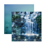 Reminisce - Fairy Forest Collection - 12 x 12 Double Sided Paper - Magical Oasis