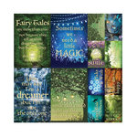 Reminisce - Fairy Forest Collection - 12 x 12 Cardstock Stickers - Poster