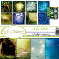 Reminisce - Fairy Forest Collection - Page Kit