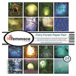 Reminisce - 12 x 12 Paper Pad - Fairy Forest