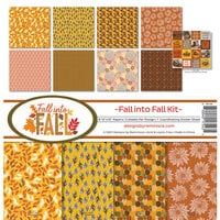 Reminisce - Fall into Fall Collection - 12 x 12 Collection Kit