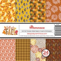 Reminisce - Fall into Fall Collection - 6 x 6 Paper Pad