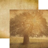 Reminisce - Family Collection - 12 x 12 Double Sided Paper - Family Tree