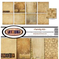 Reminisce - Family Collection - 12 x 12 Collection Kit
