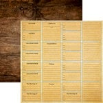 Reminisce - Family Tree Collection - 12 x 12 Double Sided Paper - Family Heritage