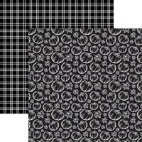 Ella and Viv Paper Company - Fall Rustica Collection - 12 x 12 Double Sided Paper - Fall Rustica