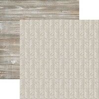 Ella and Viv Paper Company - Fall Rustica Collection - 12 x 12 Double Sided Paper - Hello Fall