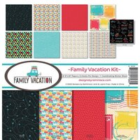 Reminisce - Family Vacation Collection - 12 x 12 Collection Kit
