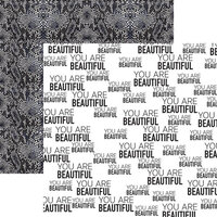 Reminisce - Fashion Week Collection - 12 x 12 Double Sided Paper - You are Beautiful