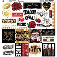 Reminisce - Fashion Week Collection - 12 x 12 Elements Sticker