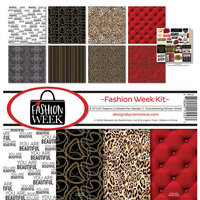 Reminisce - Fashion Week Collection - 12 x 12 Collection Kit
