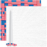 Reminisce - The 4th Collection - 12 x 12 Double Sided Paper - The Washington Monument