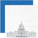 Reminisce - The 4th Collection - 12 x 12 Double Sided Paper - The Capitol