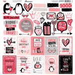 Reminisce - Forever In Love Collection - 12 x 12 Sticker Sheet