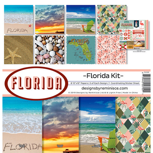 Reminisce - Florida Collection - 12 x 12 Collection Kit