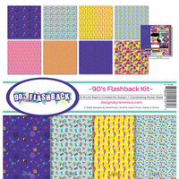 Reminisce - 90's Flashback Collection - 12 x 12 Collection Kit