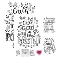 Ella and Viv Paper Company - Frameable Quotes Collection - 12 x 12 Double Sided Paper - Possibilities