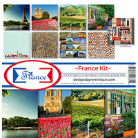 Reminisce - France Collection - 12 x 12 Collection Kit