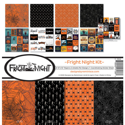 Reminisce - 12 x 12 Collection Kit - Fright Night
