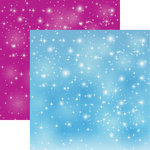 Reminisce - Frosted Collection - 12 x 12 Double Sided Paper - Frosted Magic