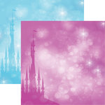 Reminisce - Frosted Collection - 12 x 12 Double Sided Paper - Frost Castle
