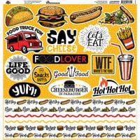 Reminisce - Food Truck Fest Collection - 12 x 12 Elements Sticker