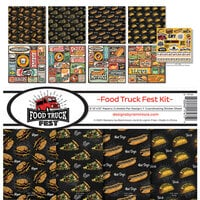 Reminisce - Food Truck Fest Collection - 12 x 12 Collection Kit